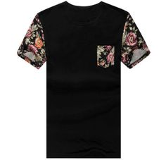2015-New-Raglan-Sleeve-Men-T-Shirts-Floral-Printed-Plus-Size-Mens-t-Shirt-Tops