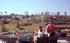 35mm Slide Freedomland Amusement Park Amoco Ad Car Bronx NY Kodachrome 1961