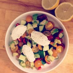 ... Pinterest | Cucumber kimchi, Strawberry avocado salad and Wiffle ball