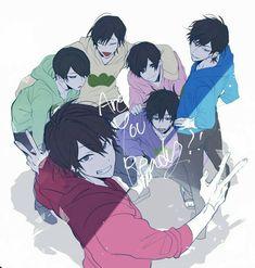 [おそ松さん] - ❤ Random :D Anime Love, Hot Anime Boy, Cute Anime Guys, Anime Chibi, Kawaii Anime, Dark Anime, Anime Cosplay, Boys Lindos, Manga Art