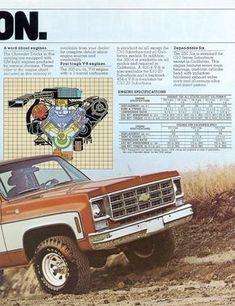 1978 chevy pickup specs