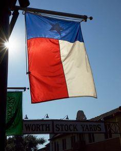 Texas Flag, Fort Worth Stockyards