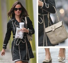 Ri2K bag, Russel and Bromley flats, but WHERE is that coat from?!