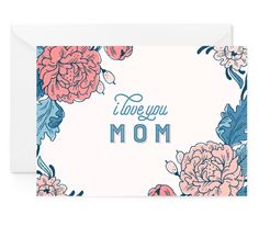 Floral Sentiments Mother's Day Card