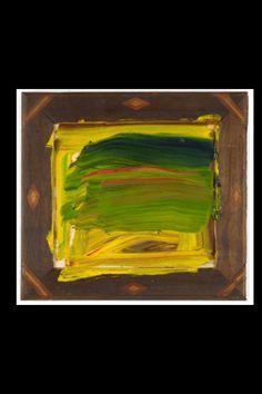 "Howard Hodgkin - "" Jungle"", 2011/12 - Oil on wood - 56,1 x 61,6 cm (*)"