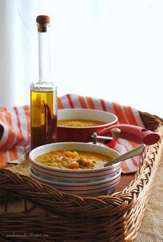 Pane, burro e alici: Zuppa di zucca e sorgo (con lenticchie, patate.......