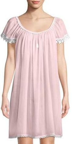 fc724bbeb4 Celestine Evening Star Short-Sleeve Nightgown