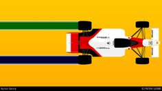 Always and Forever. #Senna #F1