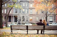 Looks like new York city in the fall :)