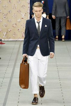 Louis Vuitton! I want this entire outfit.