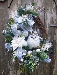 - Holiday wreaths christmas,Holiday crafts for kids to make,Holiday cookies christmas, Owl Wreaths, Wreath Crafts, Diy Wreath, Holiday Wreaths, Christmas Crafts, Christmas Ornaments, Winter Wreaths, Wreath Ideas, Wreath Making