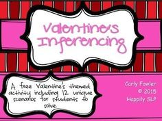 Valentine's Inferencing (Freebie)