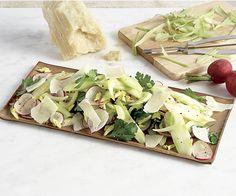 Broccoli Stalk, Celery, and Radish Salad Recipe