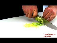 Técnicas básicas de cocina: Cómo cortar en Brunoise - YouTube