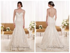 Beading Straps Sweetheart Fit and Flare Lace Wedding Dresses with Low   Back http://www.ckdress.com/beading-straps-sweetheart-fit-and-flare-lace-  wedding-dresses-with-low-back-p-2051.html  #wedding #dresses #dress #lightindream #lightindreaming #wed #clothing   #gown #weddingdresses #dressesonline #dressonline #bride