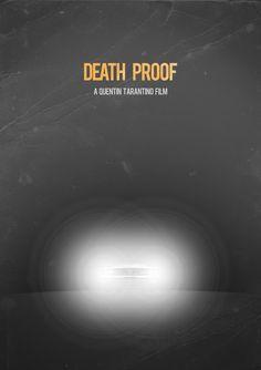 Minimalist Movie Poster: Death Proof by andresasencio