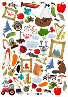 Znajdź i policz – głoska [r]. Wersja kolorowa - Printoteka.pl Kids Rugs, Education, Asd, Activities, Projects, Kid Friendly Rugs, Onderwijs, Learning, Nursery Rugs