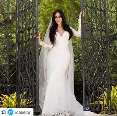 iCasei Marina Elali com Vestido de Noiva Geraldo Couto