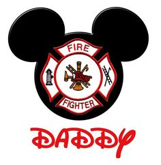23 Best Firefighter Mickey Images Fire Fighters Firefighters Firemen