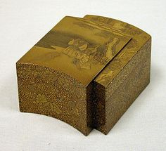 Incense Box in the Shape of a Book Period: Edo period (1615–1868) Date: early 19th century Culture: Japan Medium: Inner tray of ivory, sprin...