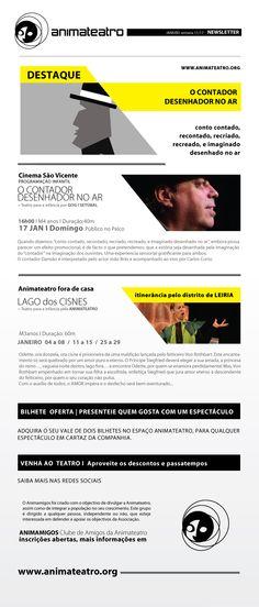 """Este Domingo, contamos, recontamos, recriamos e e imaginamos com """"O Contador Desenhador no Ar"""", no Cinema São Vicente, pelas 16H, esperamos por vocês!"""