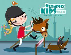 Olympics kids team on Behance