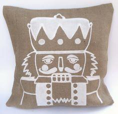 Nutcracker Accent Pillow (Blanche)