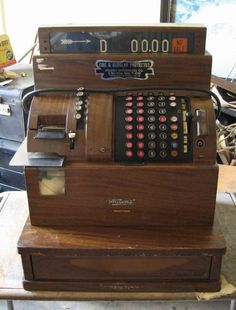 1940's era #Cash register