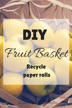 A fun DIY Project done with paper rolls!