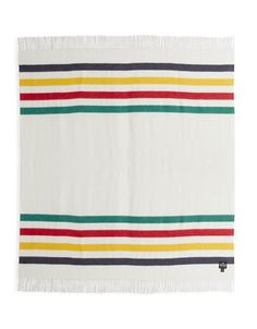 HBC Collections | Blankets & Throws | Signature Stripe Throw - Classic | Hudson's Bay