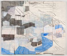 Mixed media on panels by Beka Goedde Related: Mark Bradford Atley