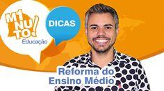 A reforma do Ensino Médio está dando o que falar, não é mesmo?  Muitas dúvidas surgiram, por isso o Minuto Educação de hoje é sobre esse assunto tão comentado. Veja as informações do Consultor Educacional Ton Ferreira e compartilhe com seus amigos!  Saiba mais no Portal do MEC: http://portal.mec.gov.br/index.php  Facebook: https://www.facebook.com/vitaebrasil Instagram: https://www.instagram.com/vitaebrasil/