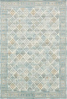 Light Blue Montreal Area Rug