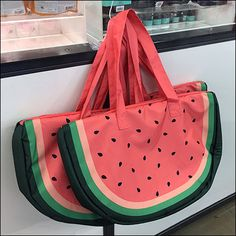Watermelon Carry-All-Bag S-Hook
