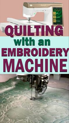 5 minute crafts videos Creating quilt blocks has never been easier - modern embroidery machines are new wonders of the world. Try quilting with embroidery machine. Machine Embroidery Quilts, Brother Embroidery Machine, Machine Embroidery Projects, Machine Quilting, Embroidery Machines, Babylock Embroidery Machine, Sewing Basics, Sewing Hacks, Sewing Projects