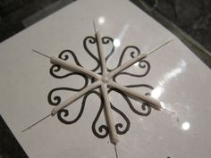 Great polymer clay snowflake tutorial