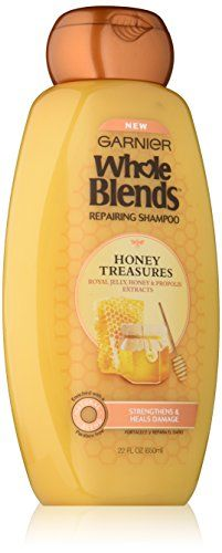 Garnier  Whole Blends Repairing Shampoo Honey Treasures extracts 22 Fluid Ounce * Click image to review more details.