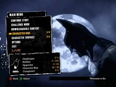 Batman: Arkham Asylum by Michael Bel Gil, via Behance