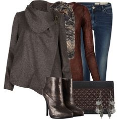 Jeans Outfit (Dressy Casual)