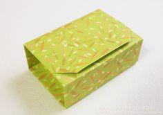 종이접기/상자접기~종이 한 장으로 완성되는 상자접기(직사각형 속 정사각형 상자) : 네이버 블로그 Origami Gift Box, Origami Paper Folding, Origami Box Tutorial, Paper Ornaments, Paper Crafts, Diy Crafts, Handicraft, Decorative Boxes, Crafty