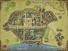 Map 47 – Raven Town