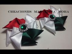 Moñitos Rehilete Tricolor - - YouTube