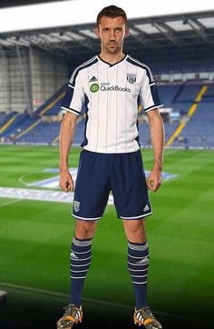 West Bromwich Albion Home kit for 2014/2015 season