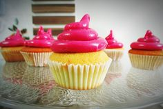 Meu primeiro cupcake… {Receita do cupcake perfeito} #cupcake #recipe