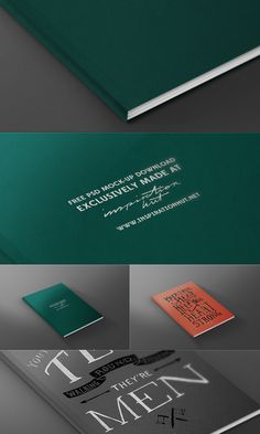 FREE Magazine / Book Front Cover Mock-up Template PSD File   Inspiration Hut