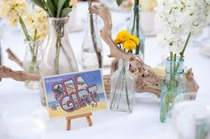 Jersey Shore Boardwalk Wedding...ideas for centerpieces