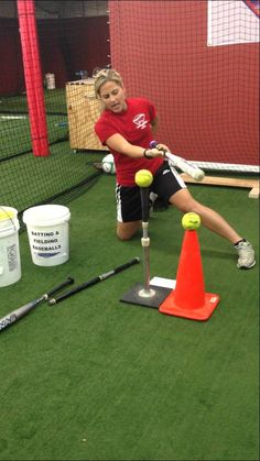 SOFTBALL BASEBALL HITTING DRILLS *NOT DIPPING*
