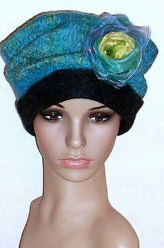 Blue Felt Hat  #Fashionable #Hat