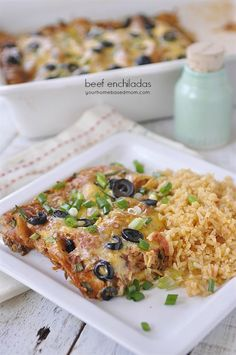 Make delicious beef enchiladas at home.