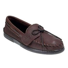 Minnetonka moccasins chocolate moose moosehide moccasins 892 122063 in Men Moccasins Slippers